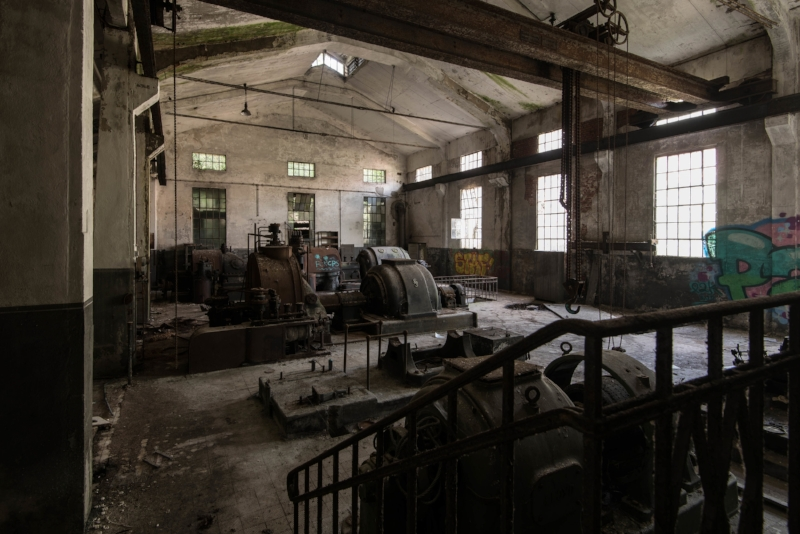 Abandoned Power Station Germany