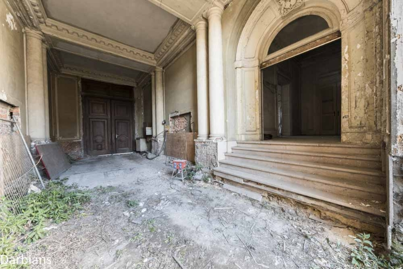 Abandoned bank Belgium