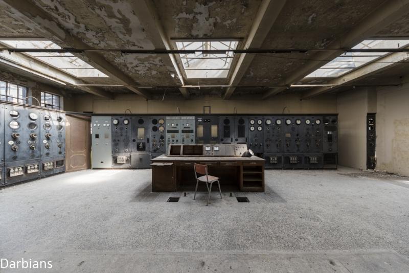 Abandoned control room Belgium