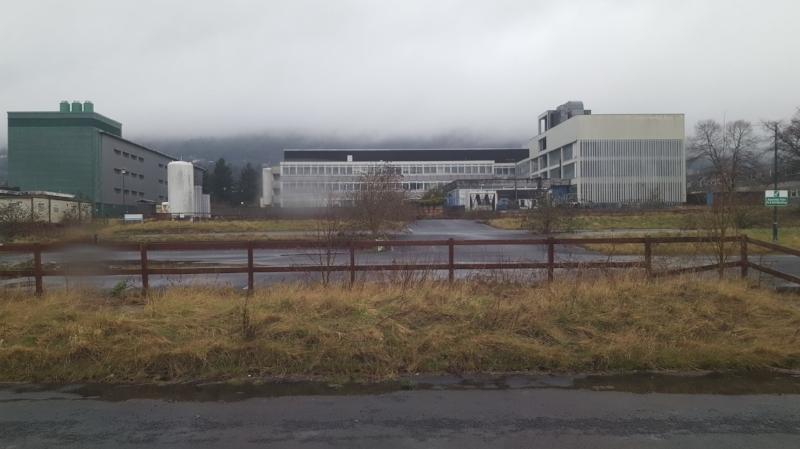Abandoned Qinetiq Malvern technology park