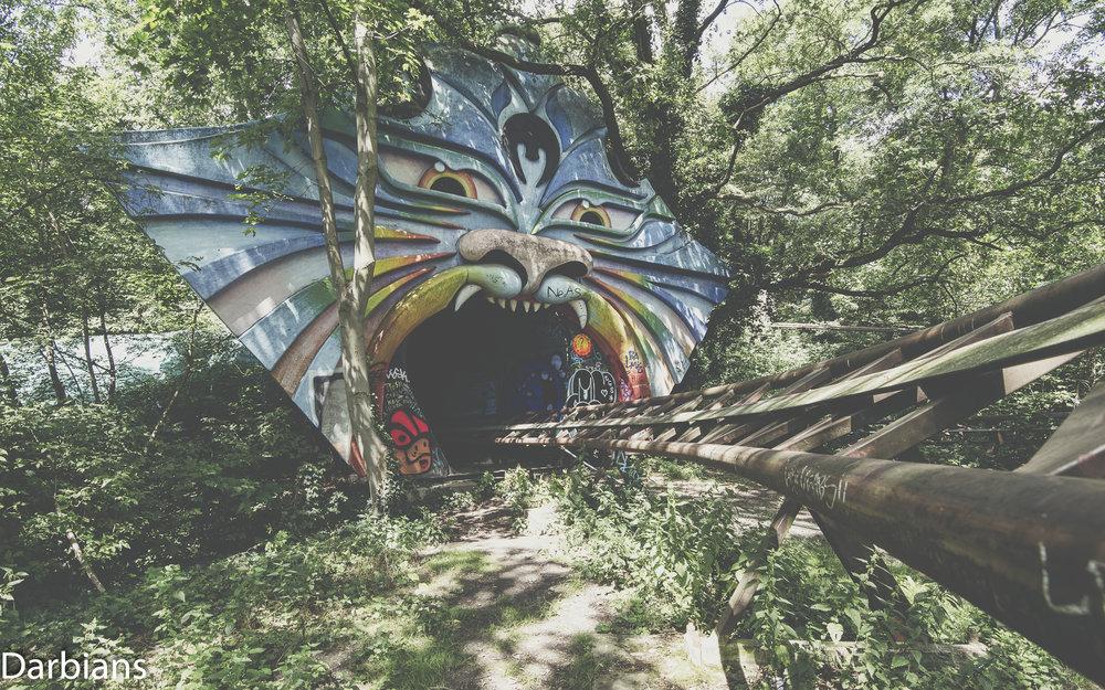 Spreepark abandoned theme park Berlin.