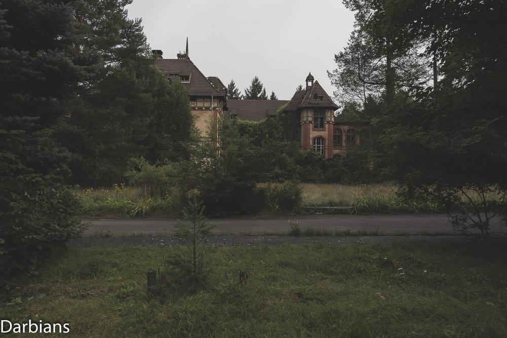Beelitz Heilstätten Abandoned Sanatorium: From memory I believe this was the dishwashing building.