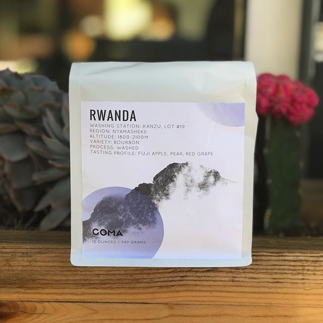 Excited to Feature this Amazing Rwanda from the Award Winning Kanzu Washing Station Roasted by our Friends Over at @comacoffee! Come Grab a Cup from the Pour Over Bar! • • • #slowbar #pourover #drinkblackcoffee #blackcoffee #singleorigin #rwanda #source #roast #coffee