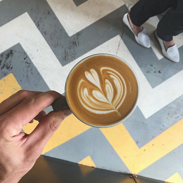 """Wake Up, Kick Ass"" -Coffee • • • #humpday #youcandothis #inspirationalquotes #inspiration #coffee #latteart #latte #coffeefirst #kickass"