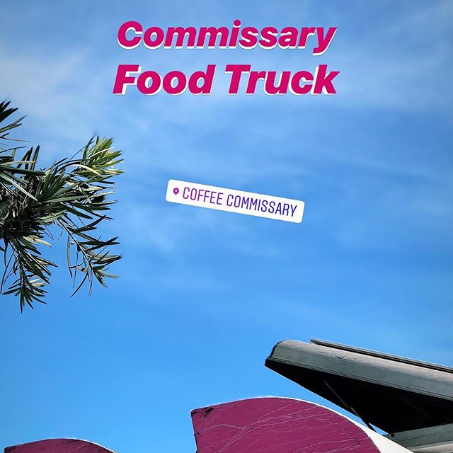 Catch our Food Truck at our OG Fairfax Location everyday this week 7:30am-12:30pm 💕👏🏼💕👏🏼 • • • #coffee #food #foodtruck #breakfast #foodie #fairfax #coffeecommissary