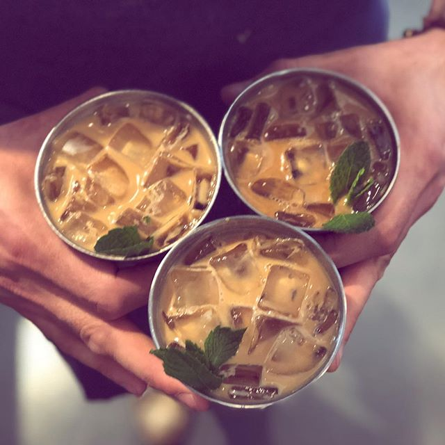 Have you had the Coffee Julep yet?