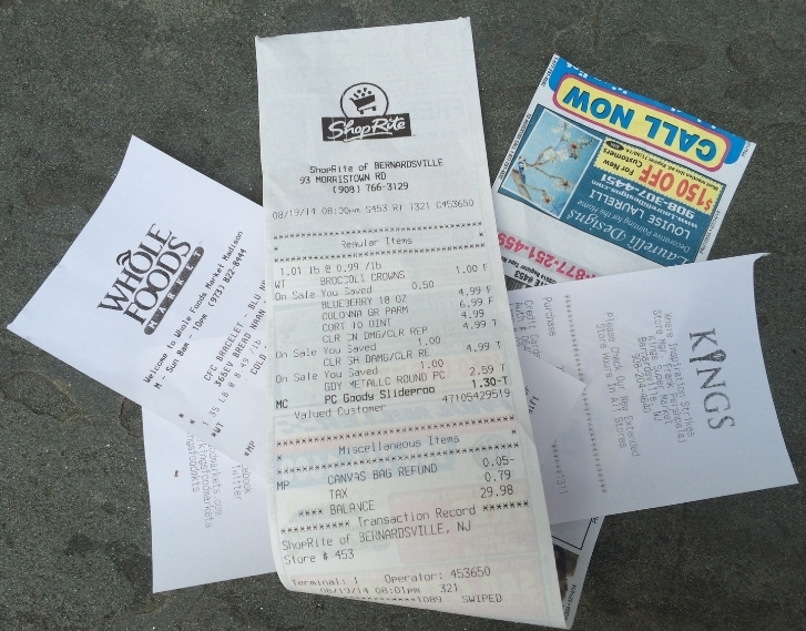 Do you really need a receipt? If not, tell them not to print one. If so, ask them to email it.