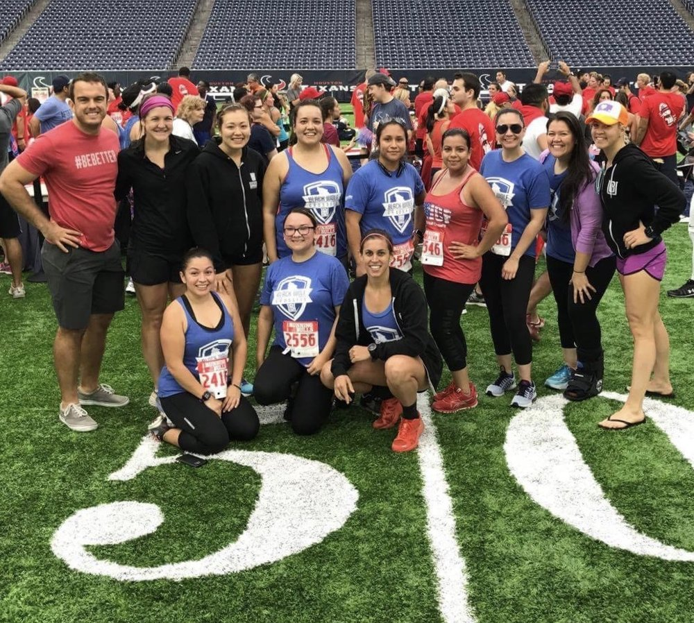The First Official Black Wolf Racing Event was the Running of the Bulls 5k at NRG Stadium. This was the first 5k for quite a few of our athletes and they were awesome!