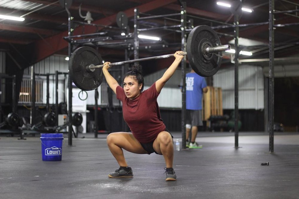 Cecilia is a picture of consistency. This woman shows up and puts in the work. Be like Cecilia!