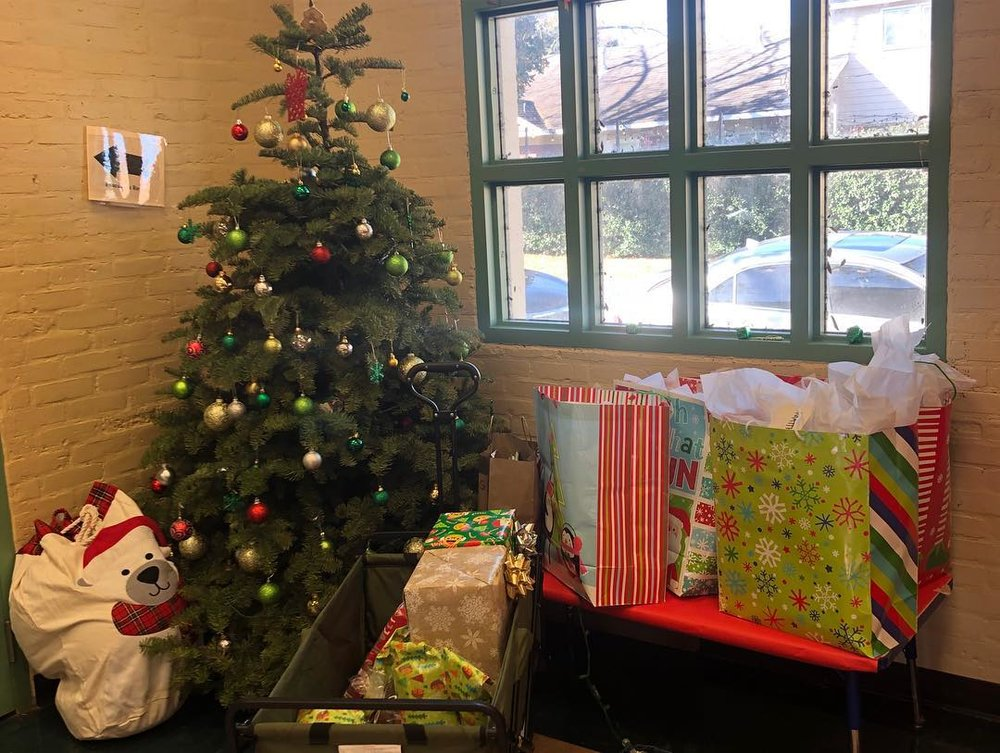 Thank you to Kirby and Charlotte for finding and managing this opportunity and for wrapping all of the gifts!