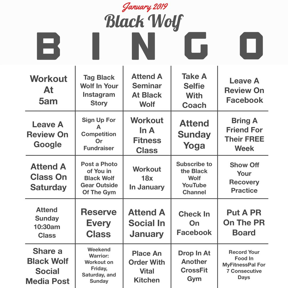 It is not too late to start blacking out your Black Wolf BINGO Board!   Read the details here!