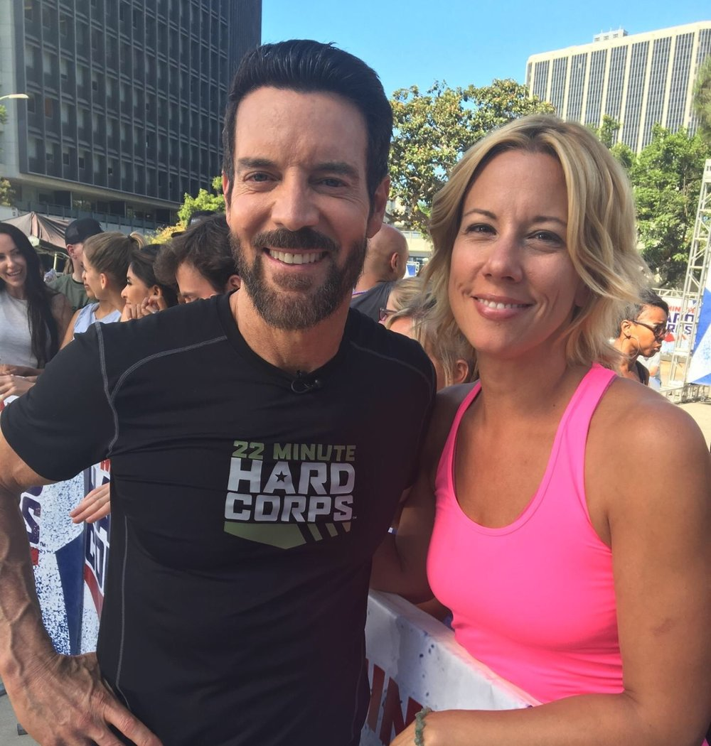 Tony Horton and me