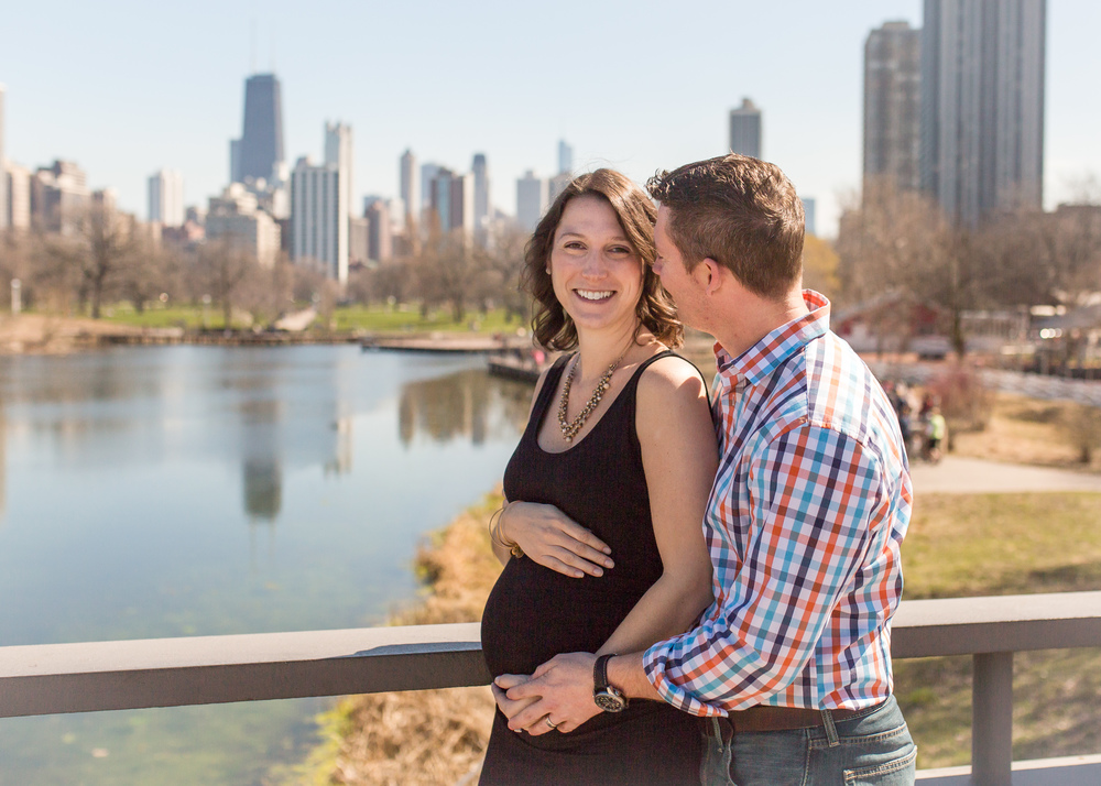 lincoln park maternity photographer