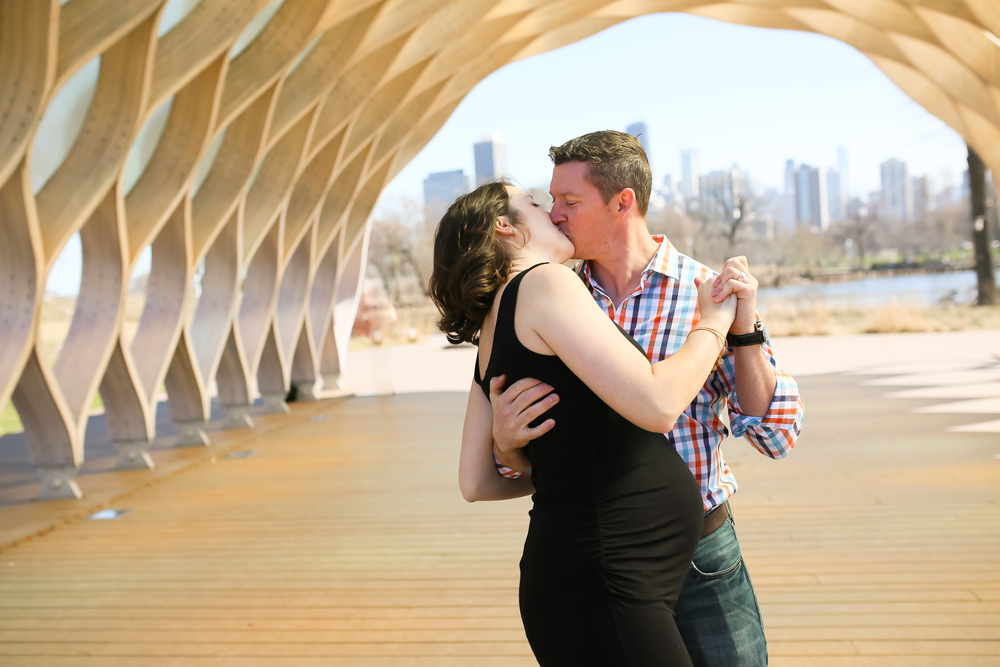maternity slow dance chicago photographer