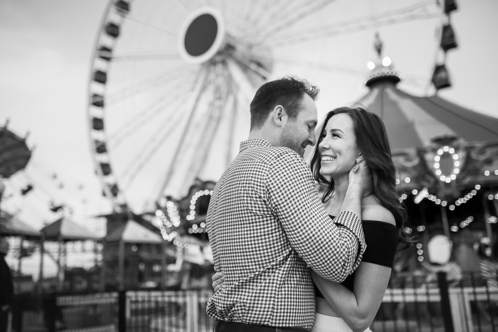 navy pier engagement