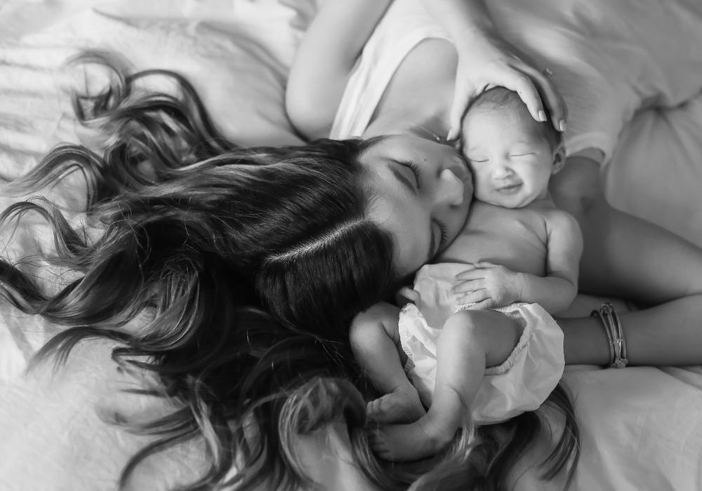 newborn baby smile