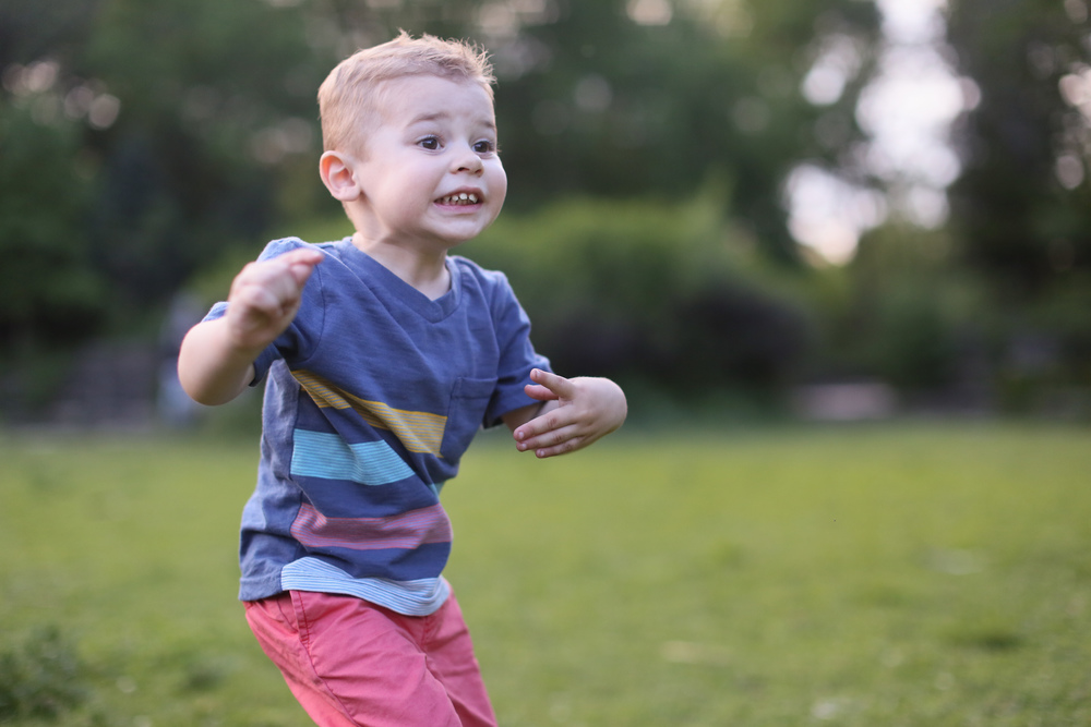 toddler active boy