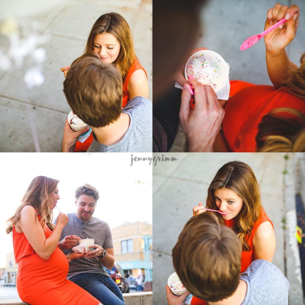 chicago pregnancy craving ice cream