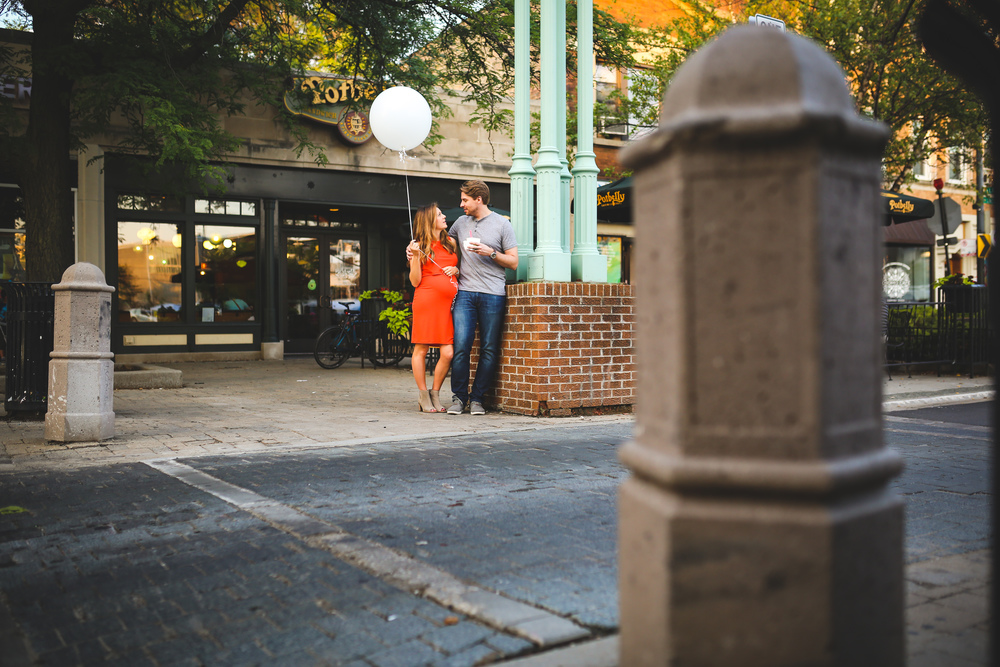 lincoln square maternity photographer