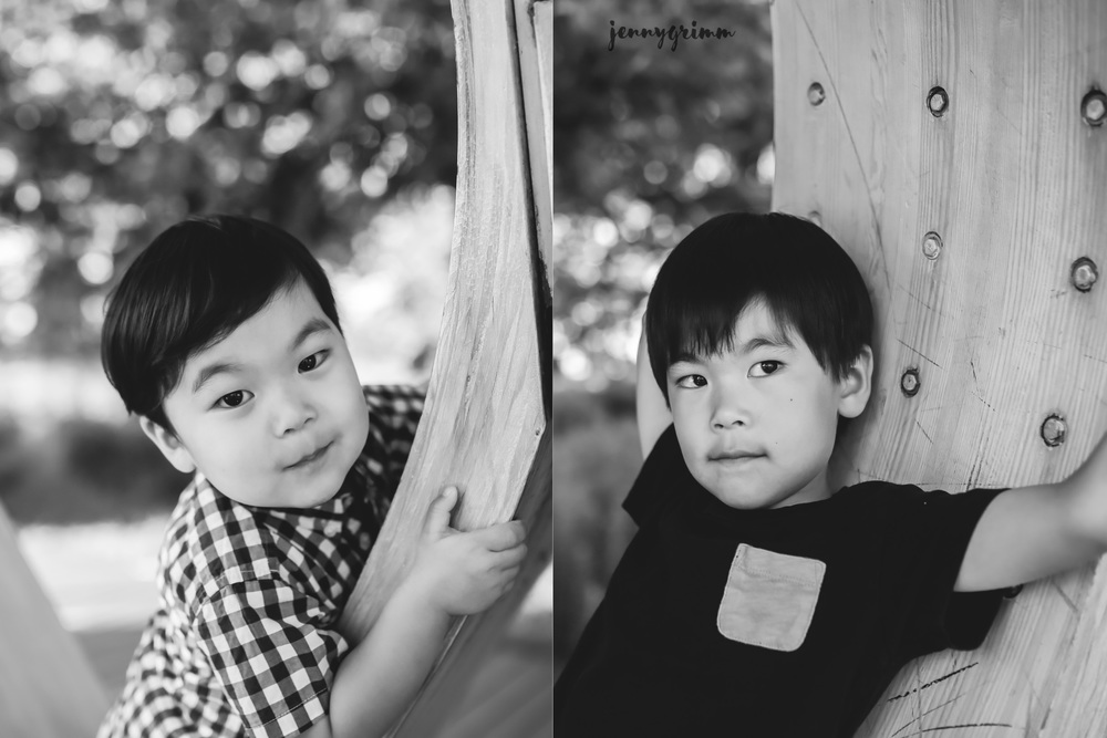 brother BW portraits jenny grimm photography