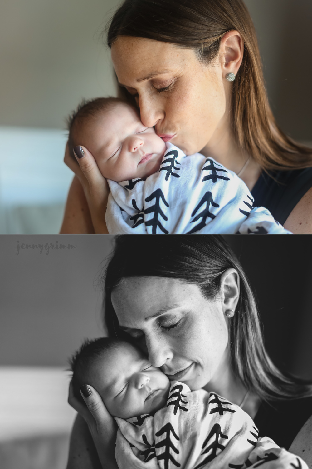 chicago mother child newborn photographer jenny grimm