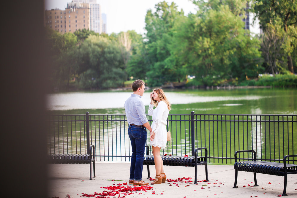 chicago proposal engagement session jenny grimm