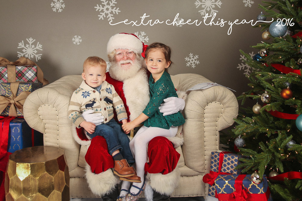 chicago santa claus lifestyle family portrait photographer jenny grimm