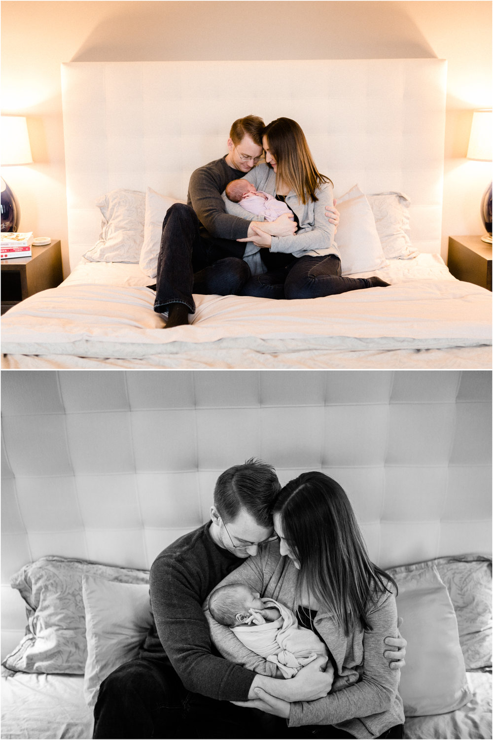 chicago newborn lifestyle photograph