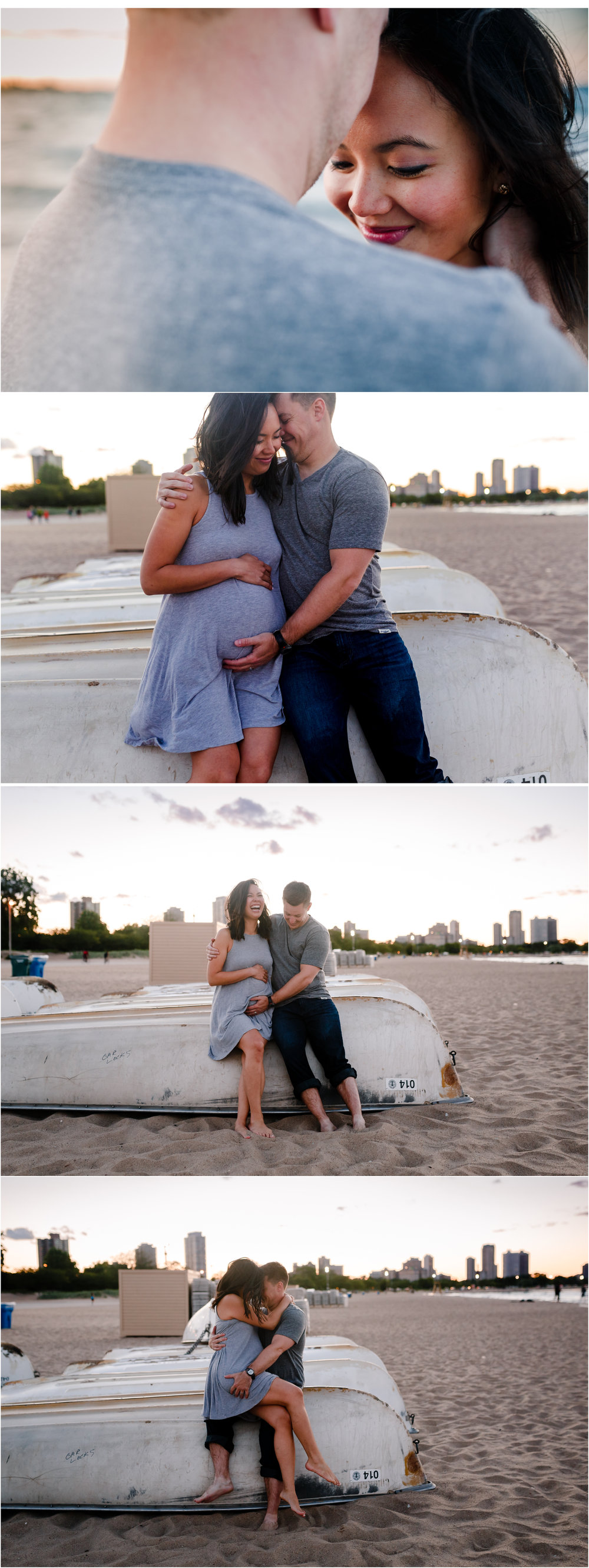 chicago beach lifestyle maternity pregnancy photographer jenny grimm