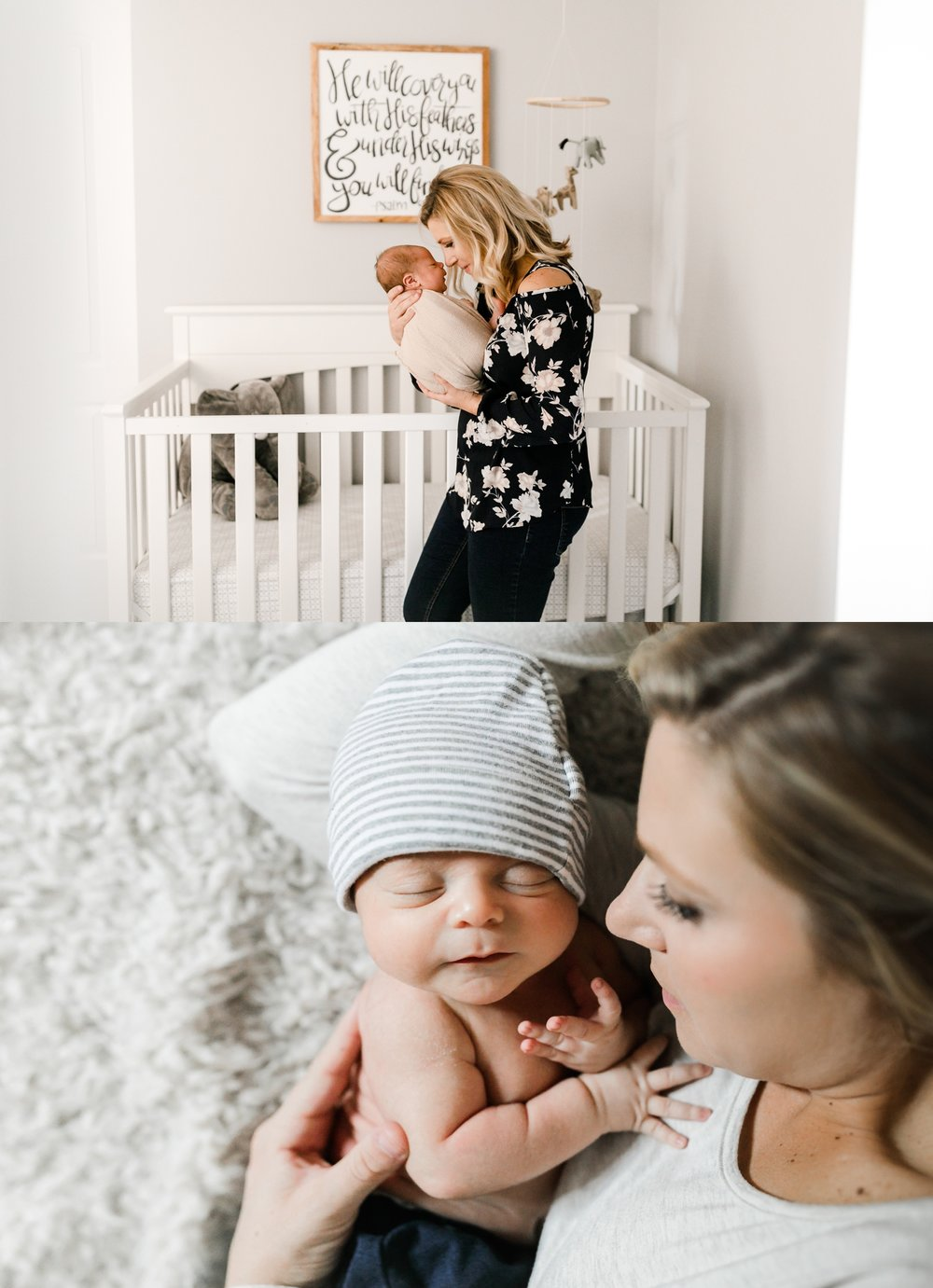 chicago newborn lifestyle photographer mother son jenny grimm photography