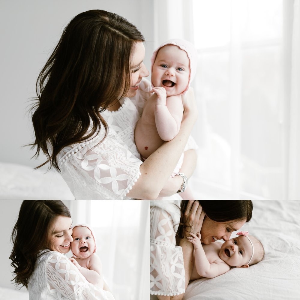 chicago baby lifestyle photographer jenny grimm photography milestone studio session