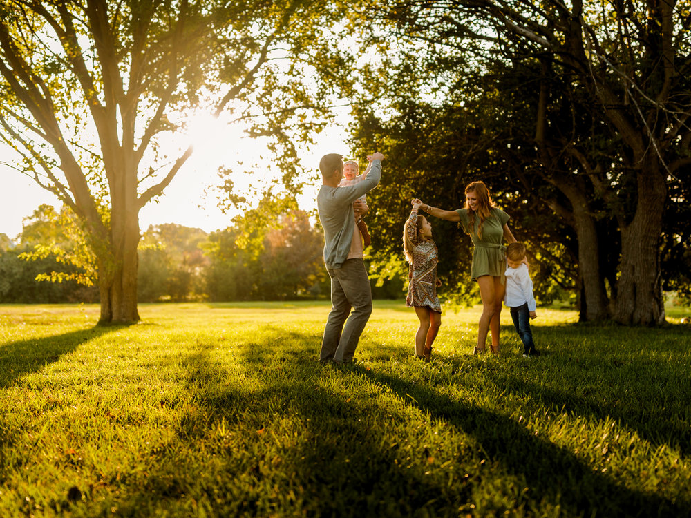 CHICAGO FAMILY LIFESTYLE GOLDEN HOUR PHOTOGRAPHER JENNY GRIMM PHOTOGRAPHY