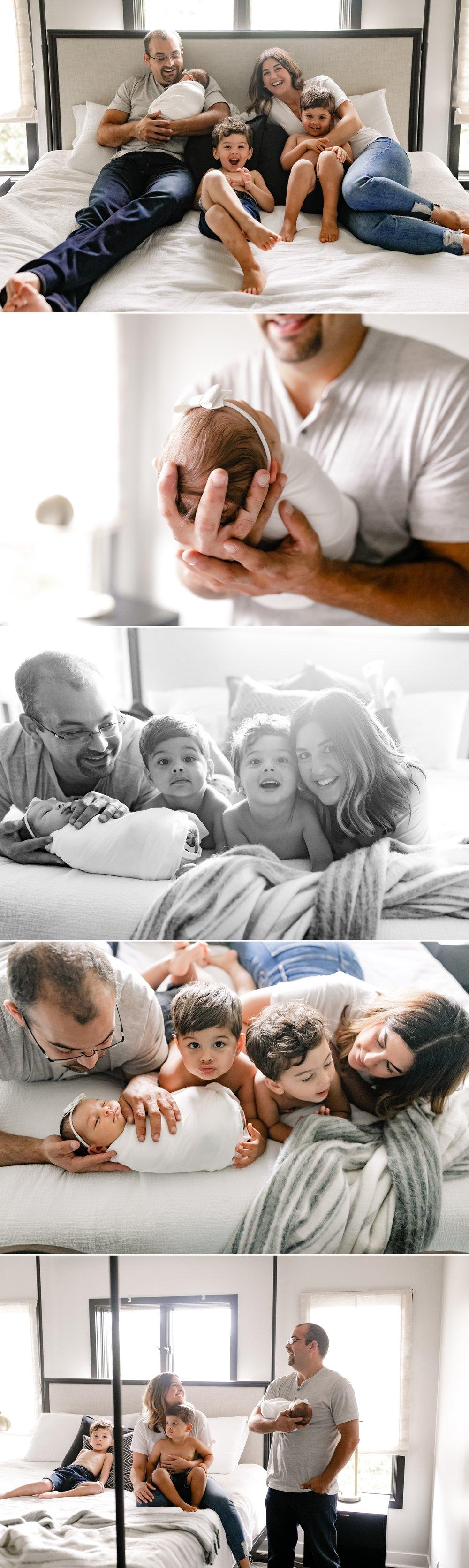 chicago newborn lifestyle family photography session jenny grimm photographer
