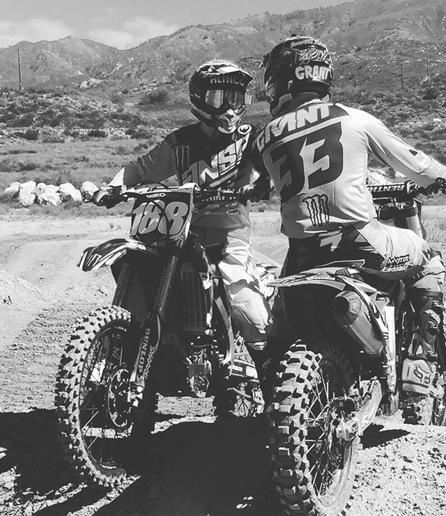 The countdown starts for the @monsterenergycup only 1 week left to prep for one of the most exciting races to watch. Check out @vurbmoto as @joshgrant33 works on teaching @geezyyy__ the ropes. Link in my bio #lifeonthegrind #makingdreamsreality #itswhatwedo