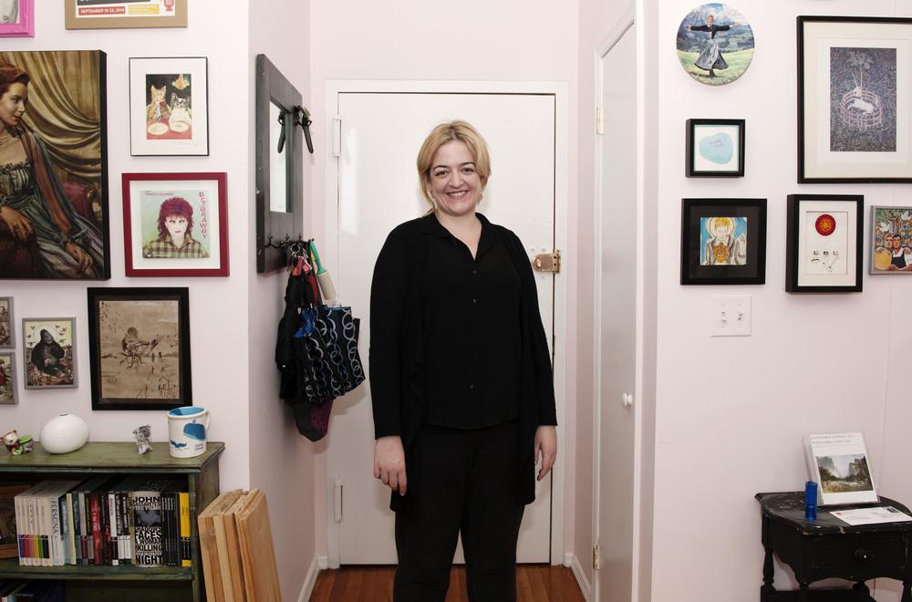 m  aeve higgins   Comedian and writer, 32, East Harlem