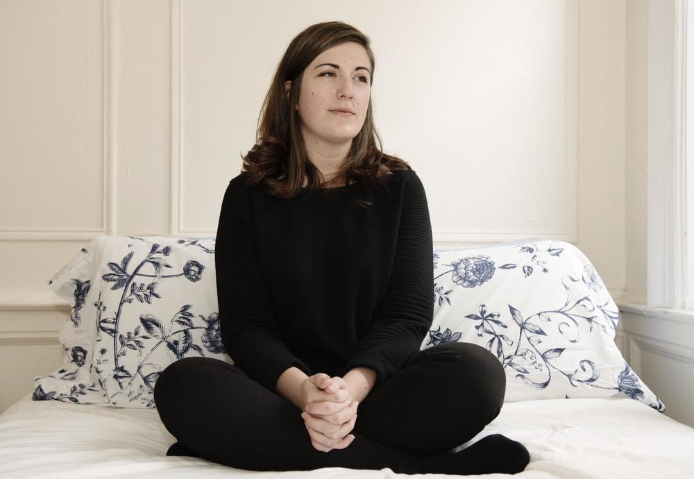 Alexandra Loulias, art curator.