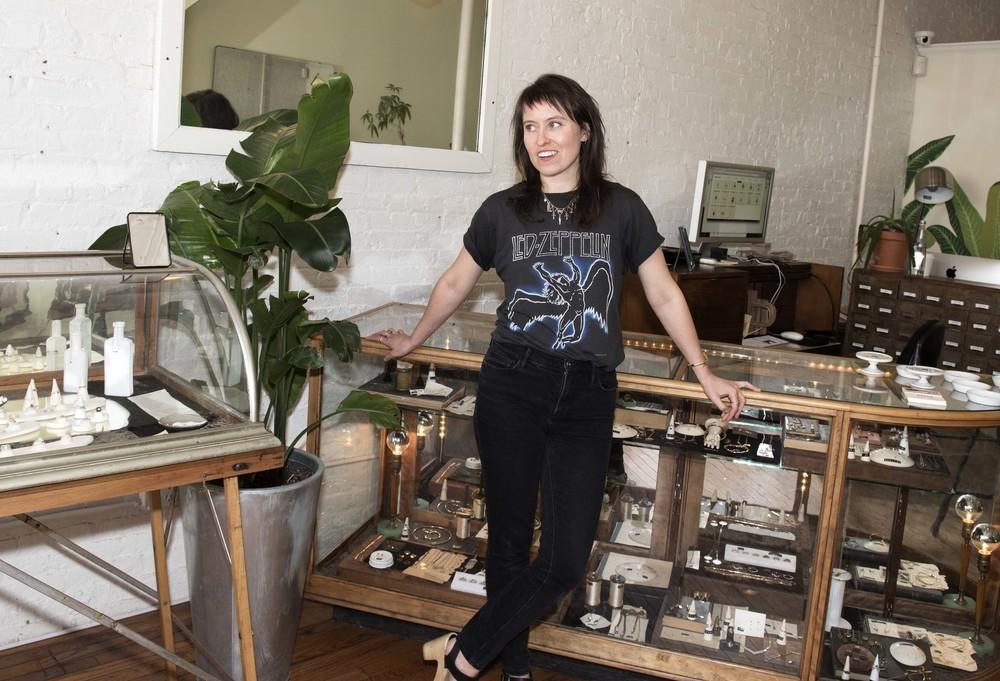 erica weiner Jewelry Designer, Boerum Hill