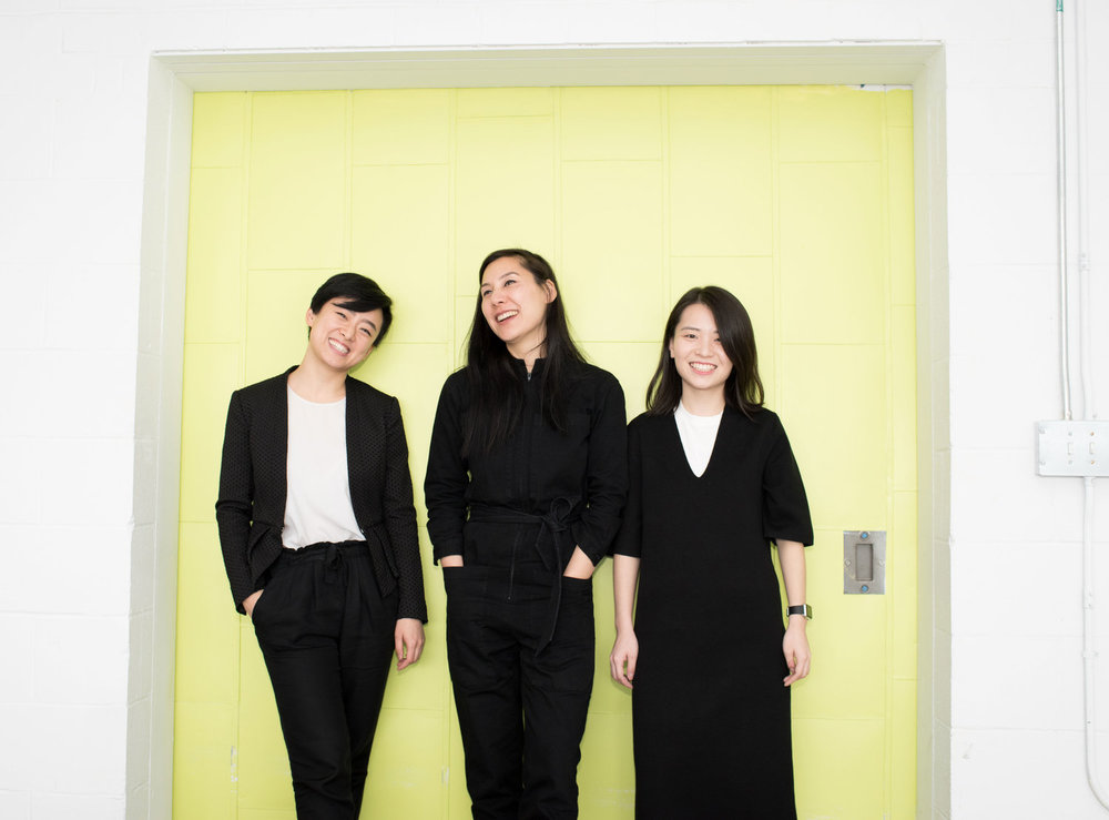 YucheN Zhang, jingwen zhU & hellyn Teng   Founders of Wearable Media Studio, Brooklyn