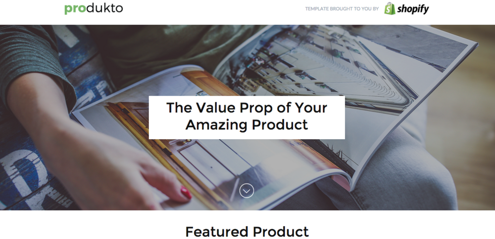 Unbounce even has actual 'Value Proposition' templates!