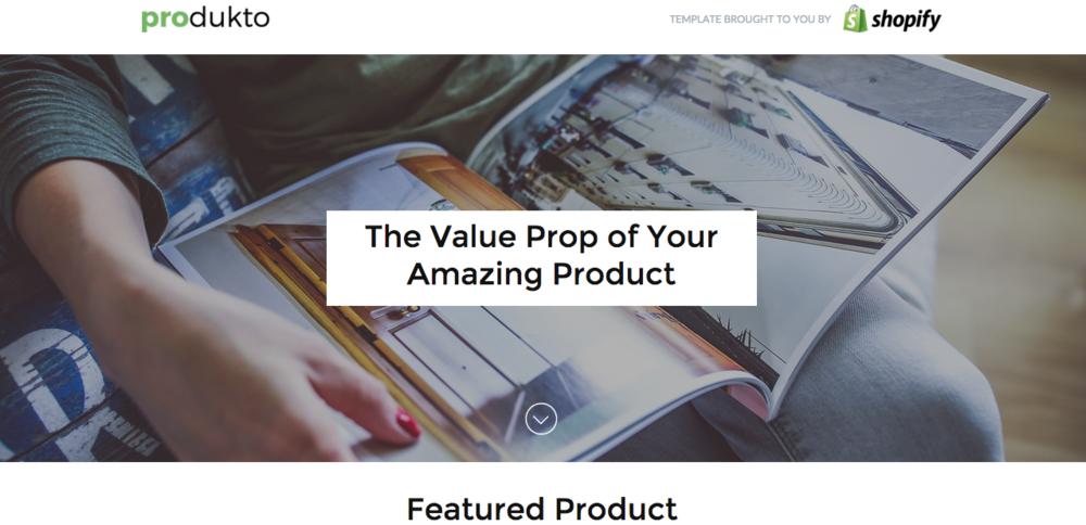 Unbounce even has actual 'Value Proposition' templates!