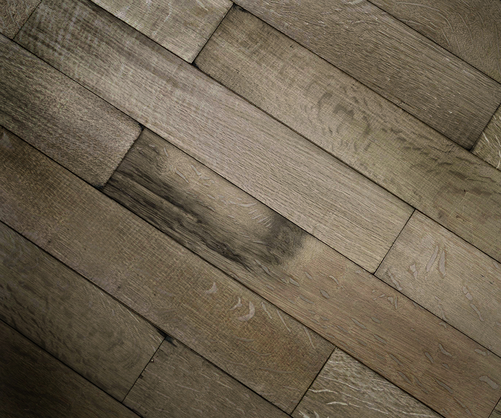 Antique Reclaimed Remilled French Oak Parquetry Block and Panels
