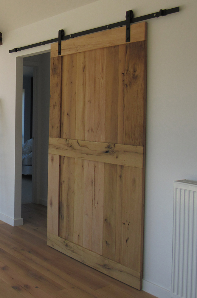 Custom Made French Oak Doors