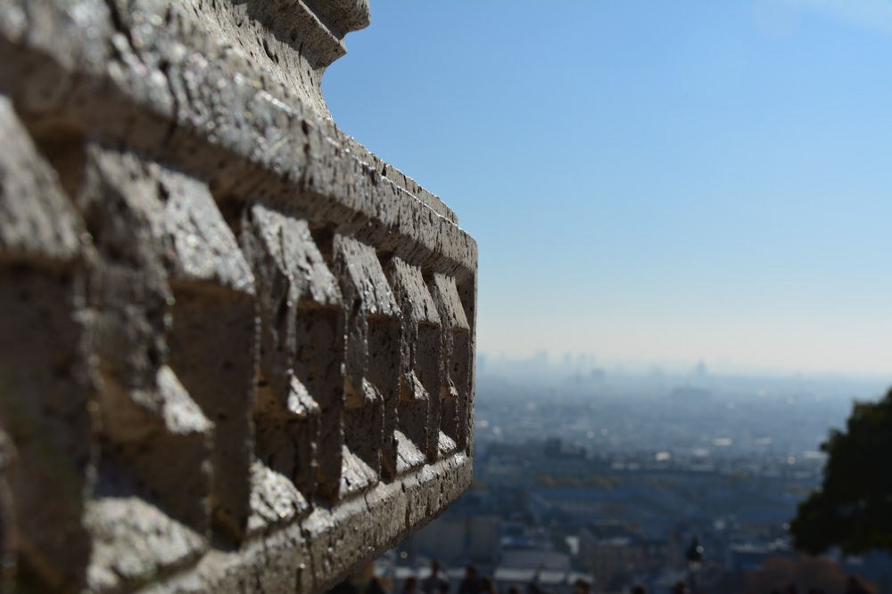 "The View from the ""Beast in the Mount"" Sacre Coeur"