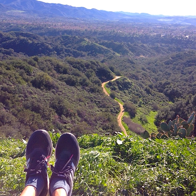 Summer fun hike over O'Neill Regional park with views of Rancho Santa Margarita.