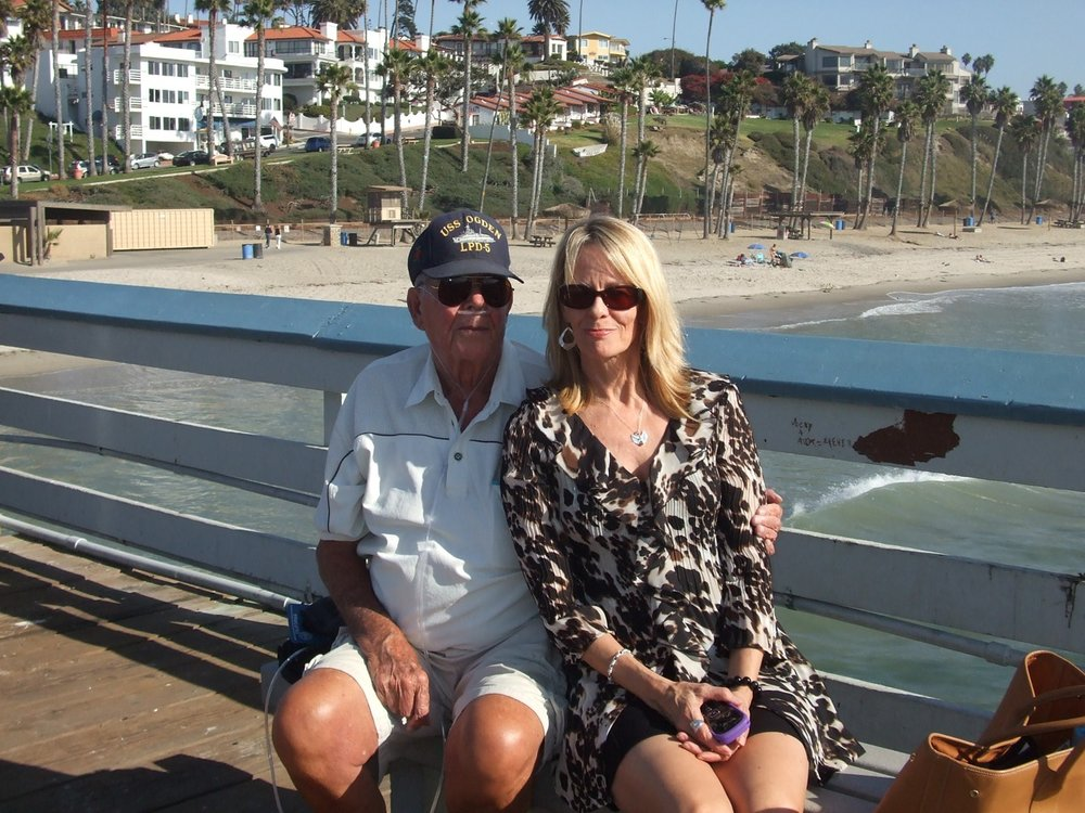 A visit with Pops in San Clemente 2011