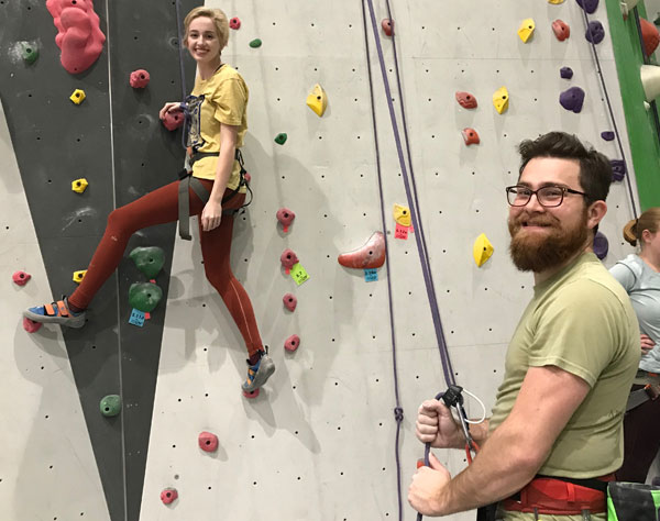 Onsight Rock Gym Indoor Rock Climbing Knoxville Tn Climbing With A Partner