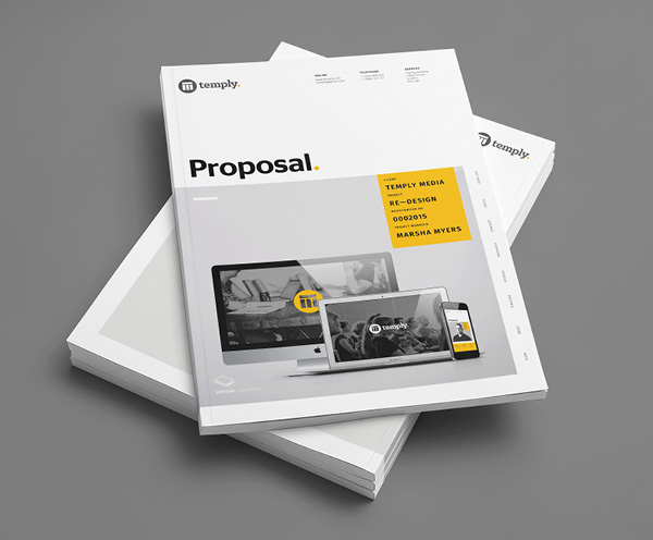 Design Proposal Template  Proposal Layouts