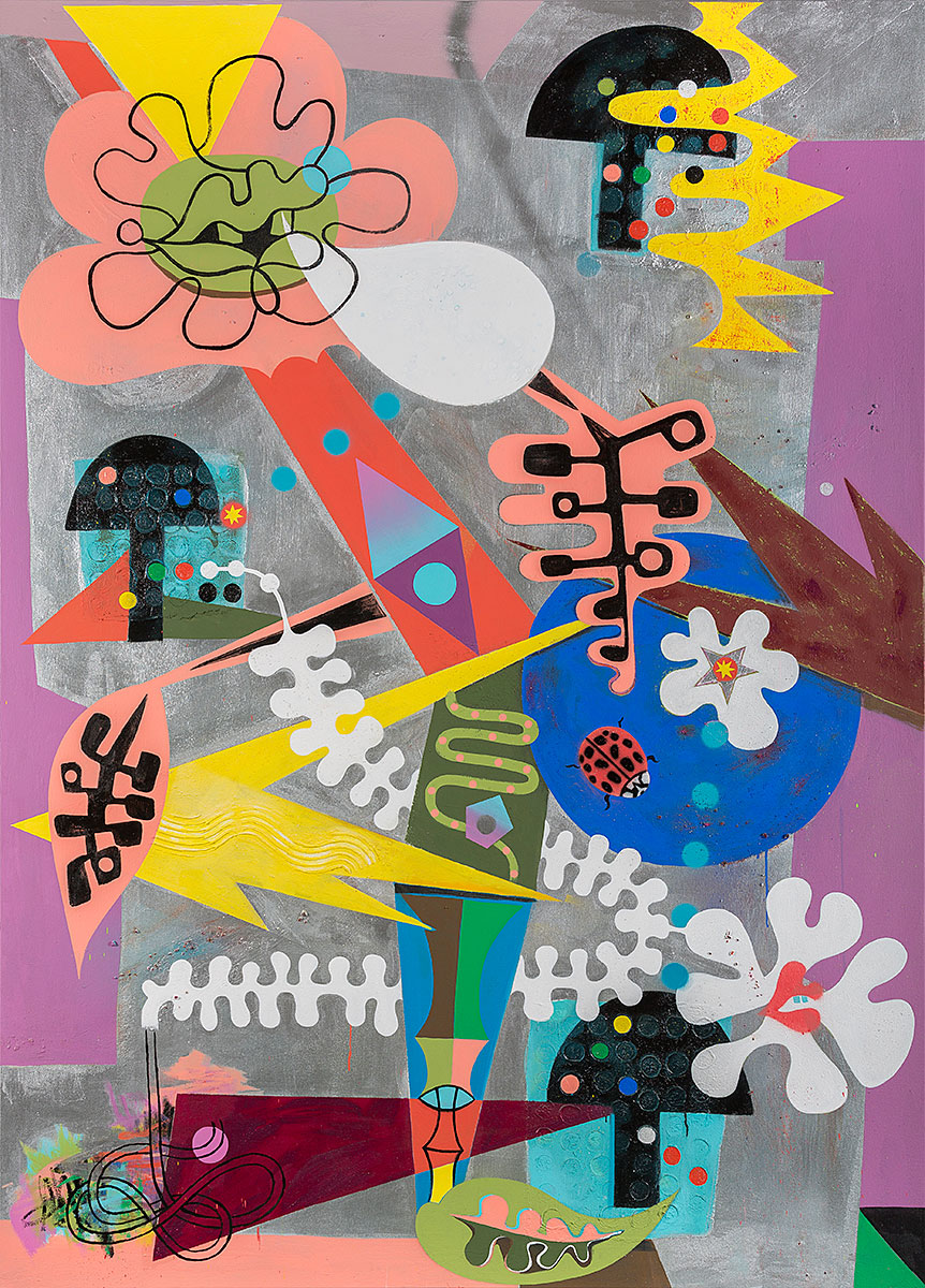 Schnell_Plant Cabaret_2016_Acrylic on canvas_78x56.jpg