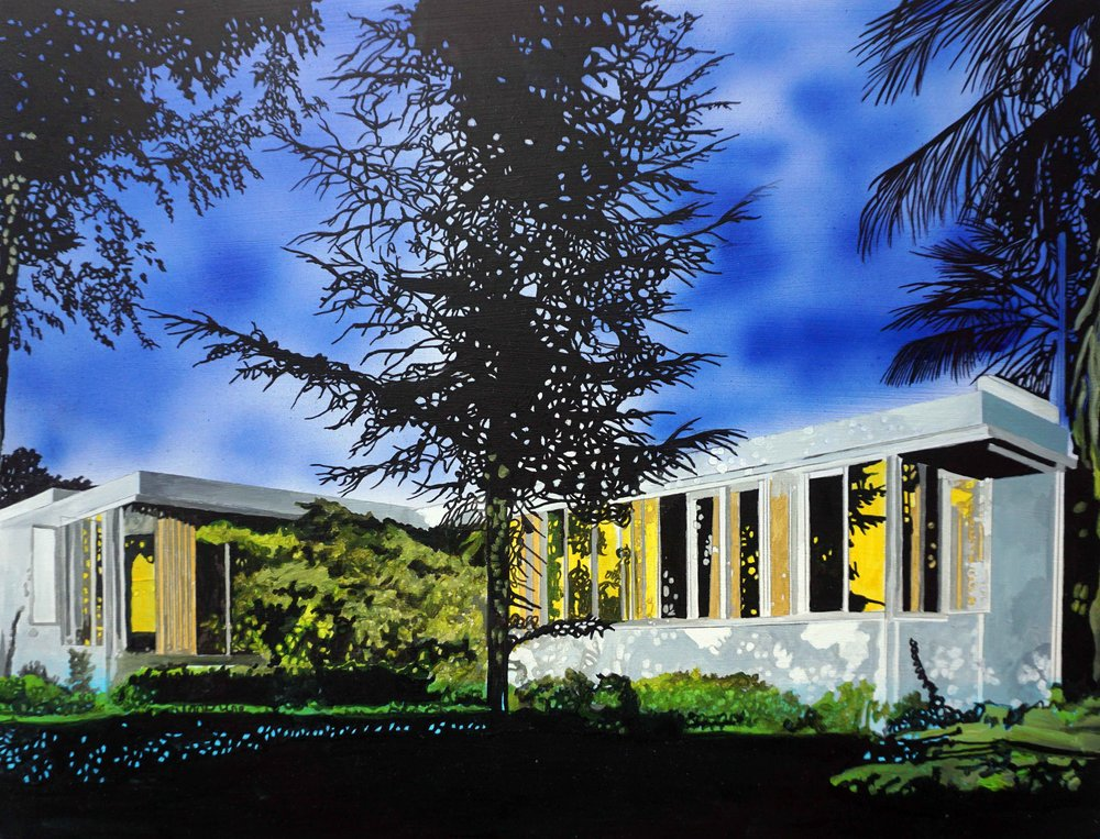 O'Kane_Neutra Richter House_11.75 x 15.75 in.jpg