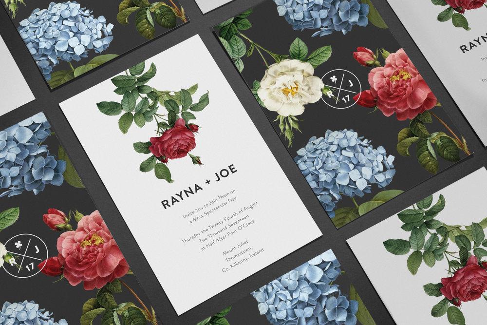 Bespoke Wedding Invitation by Maystorm Studio